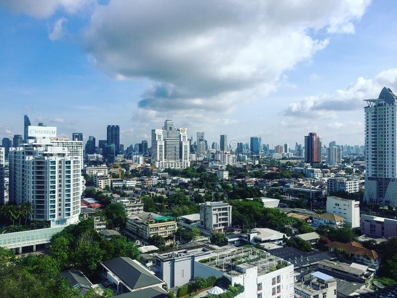 Shiny Day in BKK royalty free stock photos