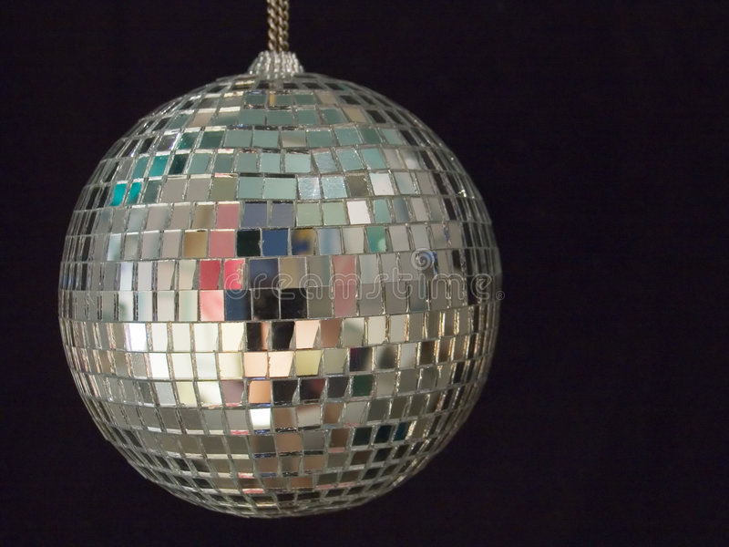 Download Shiny disco ball 1 stock photo. Image of rotate, black - 688388