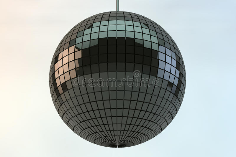 Download Shiny disco ball stock illustration. Image of nightlife - 14862531