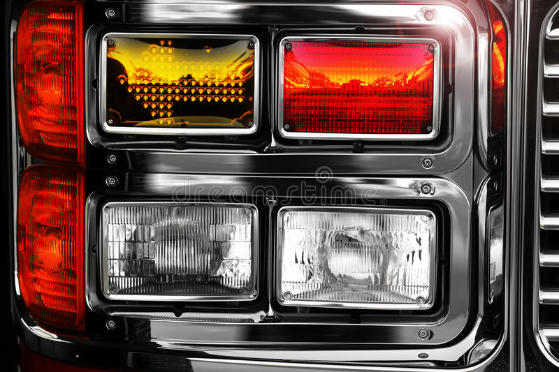 Download Shiny fire engine lights stock photo. Image of rescue - 20452548