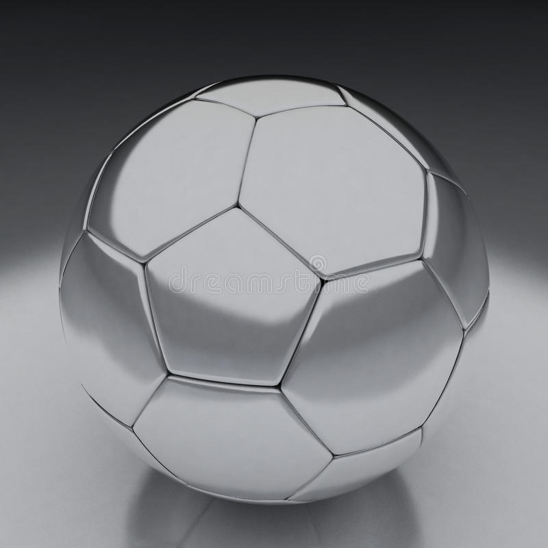 Shiny Football Stock Photography