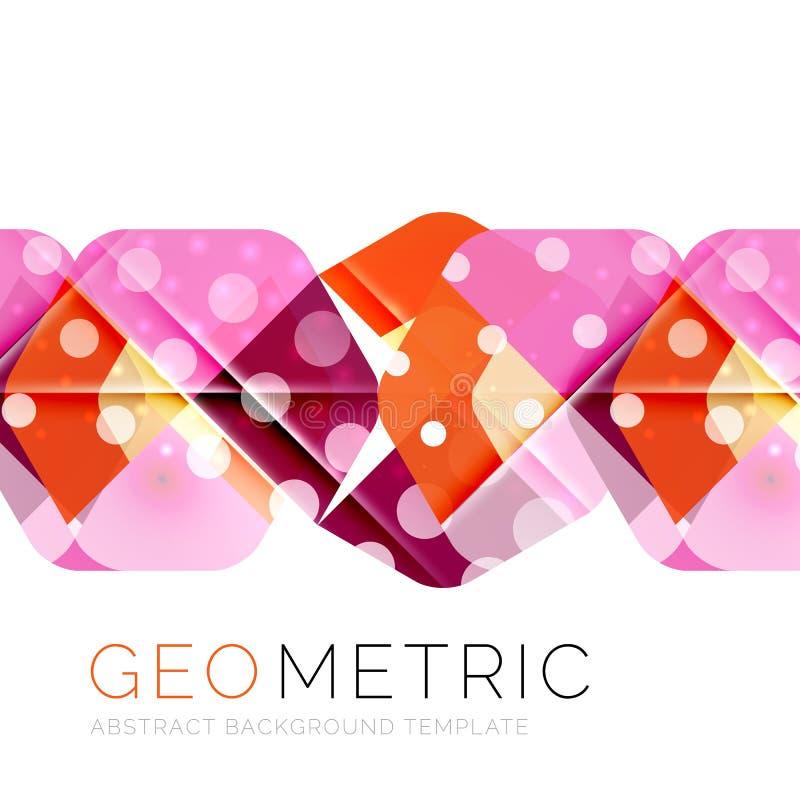 Shiny geometric abstract background. Shiny geometric vector abstract background royalty free illustration
