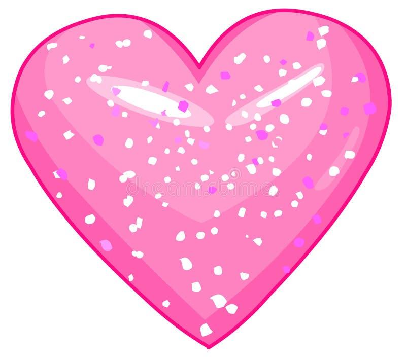 Shiny_heart royalty ilustracja