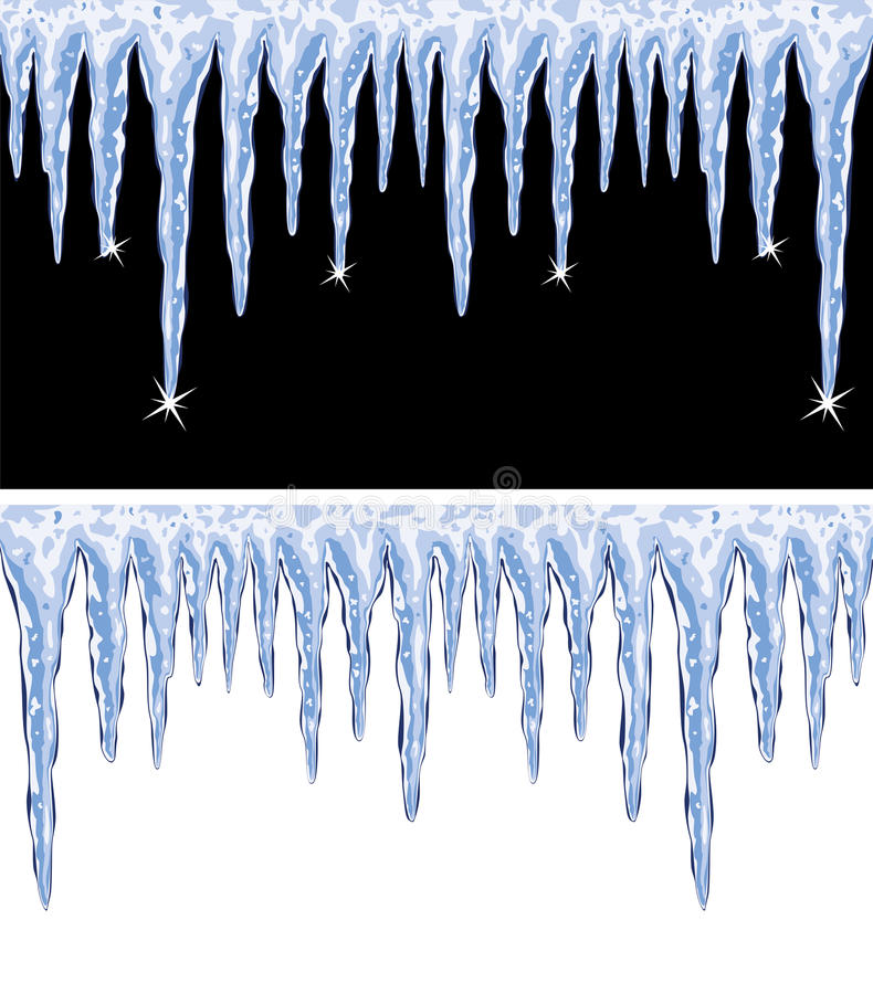 Download Vector shiny icicles stock vector. Illustration of frost - 34961399