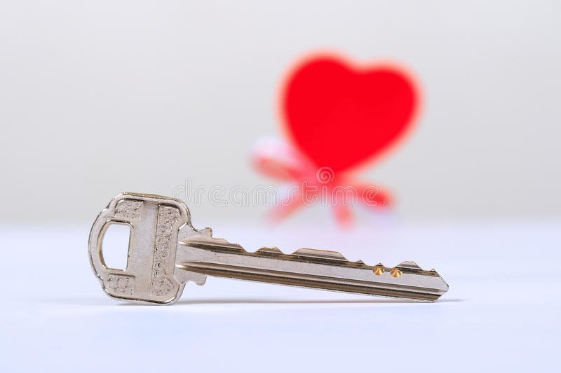 Download Shiny key and one heart stock image. Image of object - 13350129