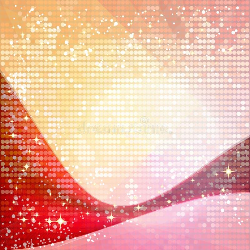 Shiny lighting background royalty free illustration