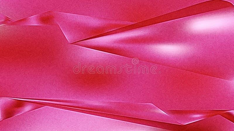 Shiny Magenta Metallic Background vector illustration