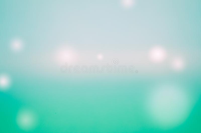 Shiny many light green  background, Balls of different colors and sizes stock photo
