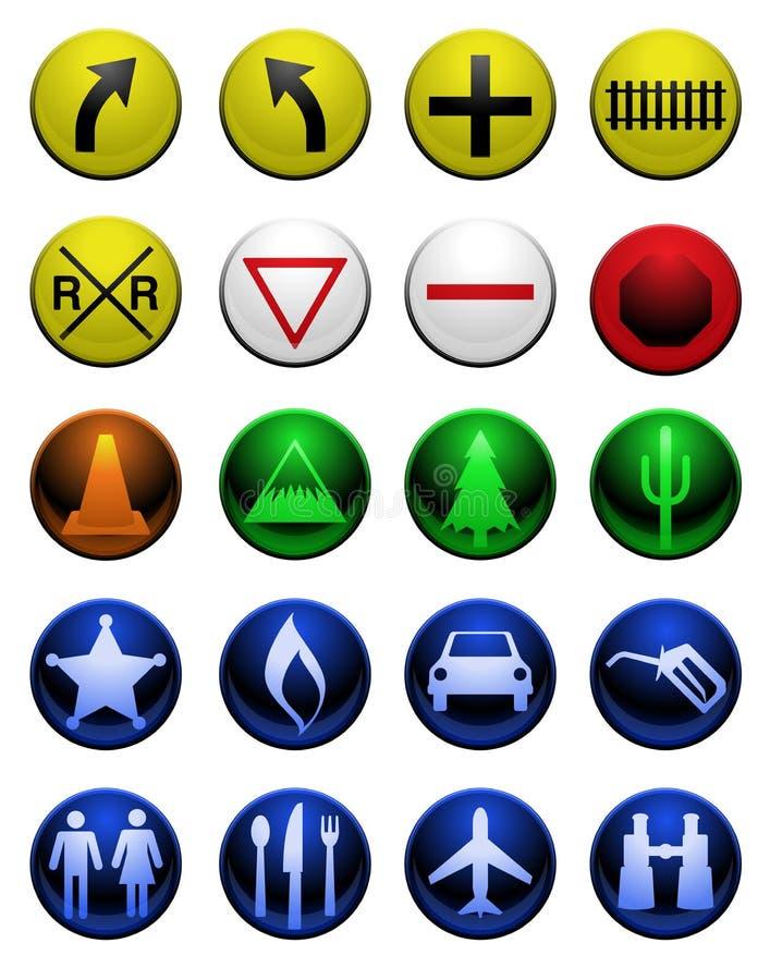 Shiny map icons