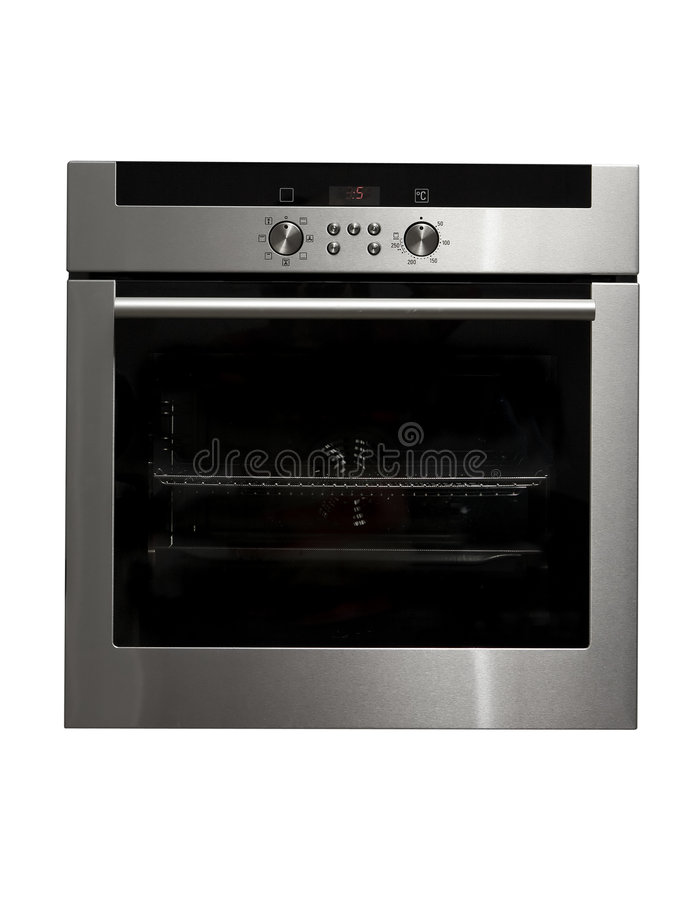 Free Shiny Metal Oven Royalty Free Stock Image - 6543046