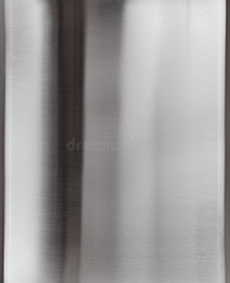 Shiny  Metal Plate Surface Royalty Free Stock Image