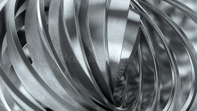 Download Shiny metal rings stock illustration. Image of material - 23257390