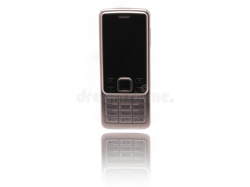 Download Shiny Mobile Phone stock photo. Image of nokia, gift, reflection - 6834478
