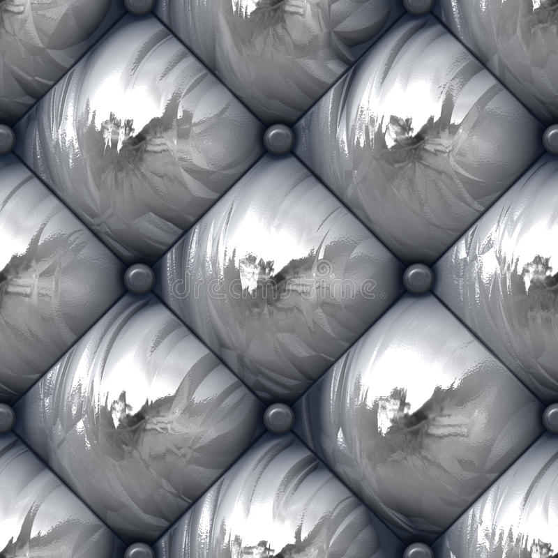 Download Shiny Padded Upholstery Pattern Stock Illustration - Illustration: 18383098