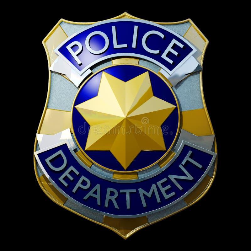 Free Shiny Police Badge Royalty Free Stock Photo - 27596355
