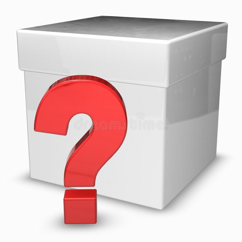 Download Shiny Question Mark Box (Surprise) Stock Illustration - Image: 16144523