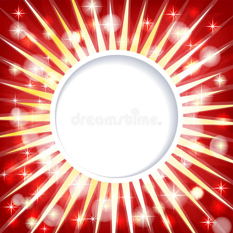 Shiny Red Abstract  Background Royalty Free Stock Photography