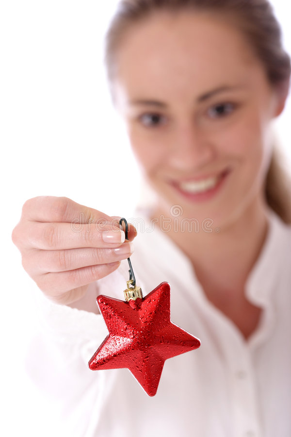 Download Shiny Red Star Royalty Free Stock Image - Image: 2282406