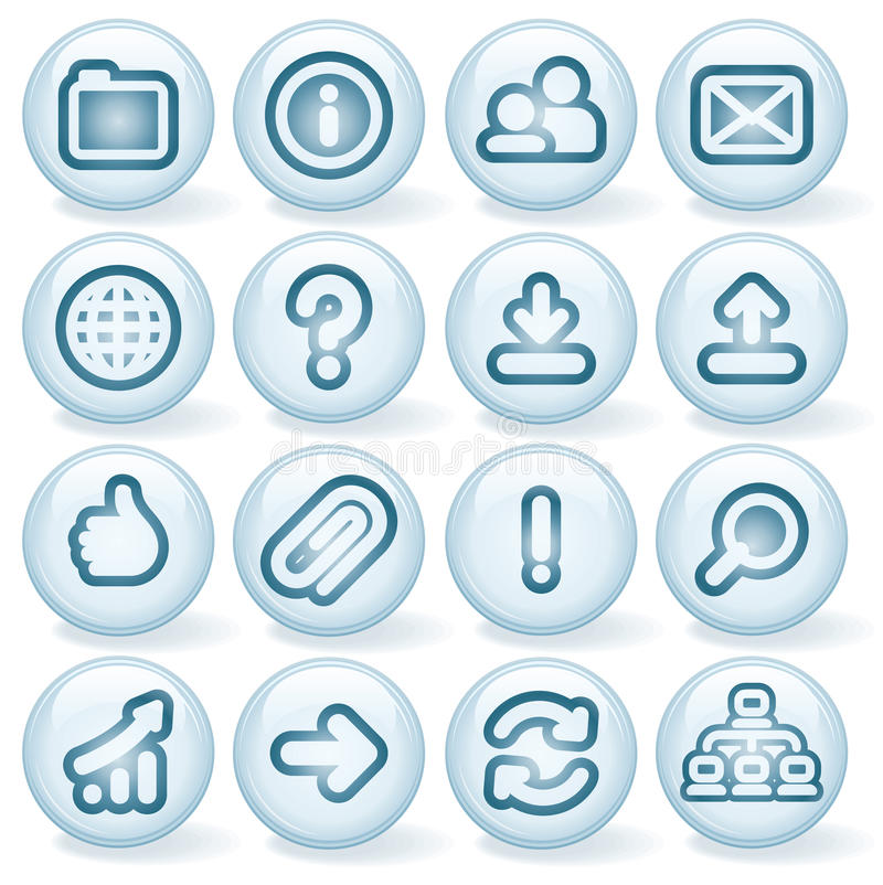 Download Shiny Round Icons #2 Royalty Free Stock Photo - Image: 24716375