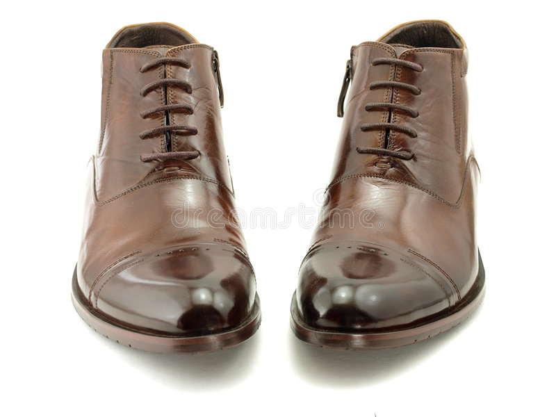 Shiny shoes royalty free stock image