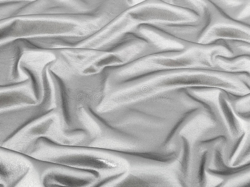 Download Shiny Silver Fabric Background Stock Image - Image: 17497561