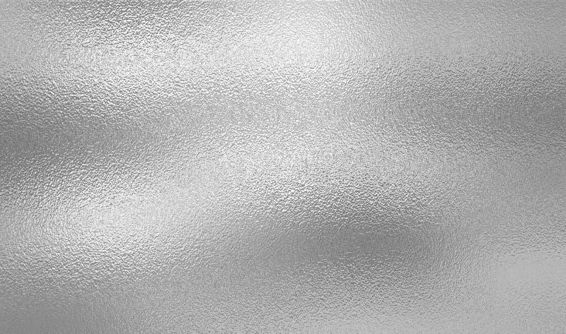 Shiny Silver Metallic Texture Background. Stock ...