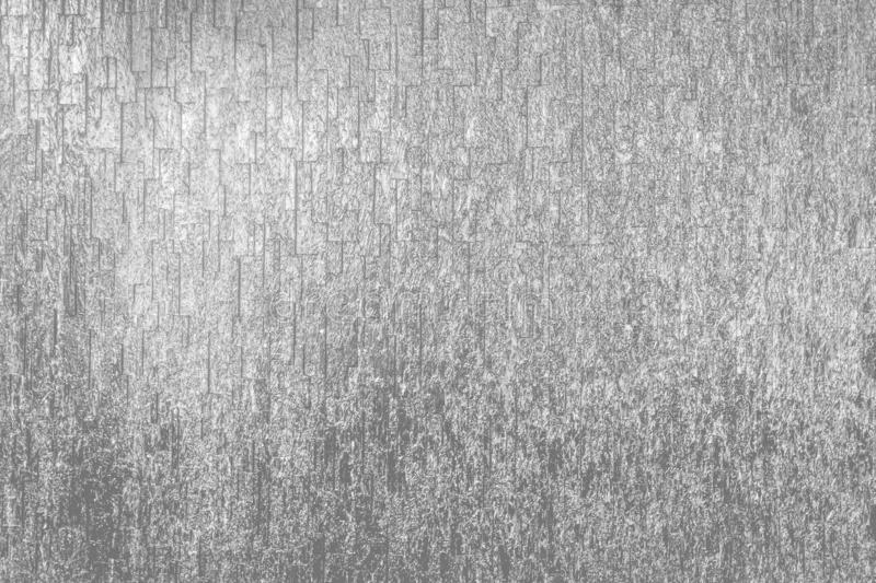 Shiny Silver Stone Wall Texture and Background royalty free stock image