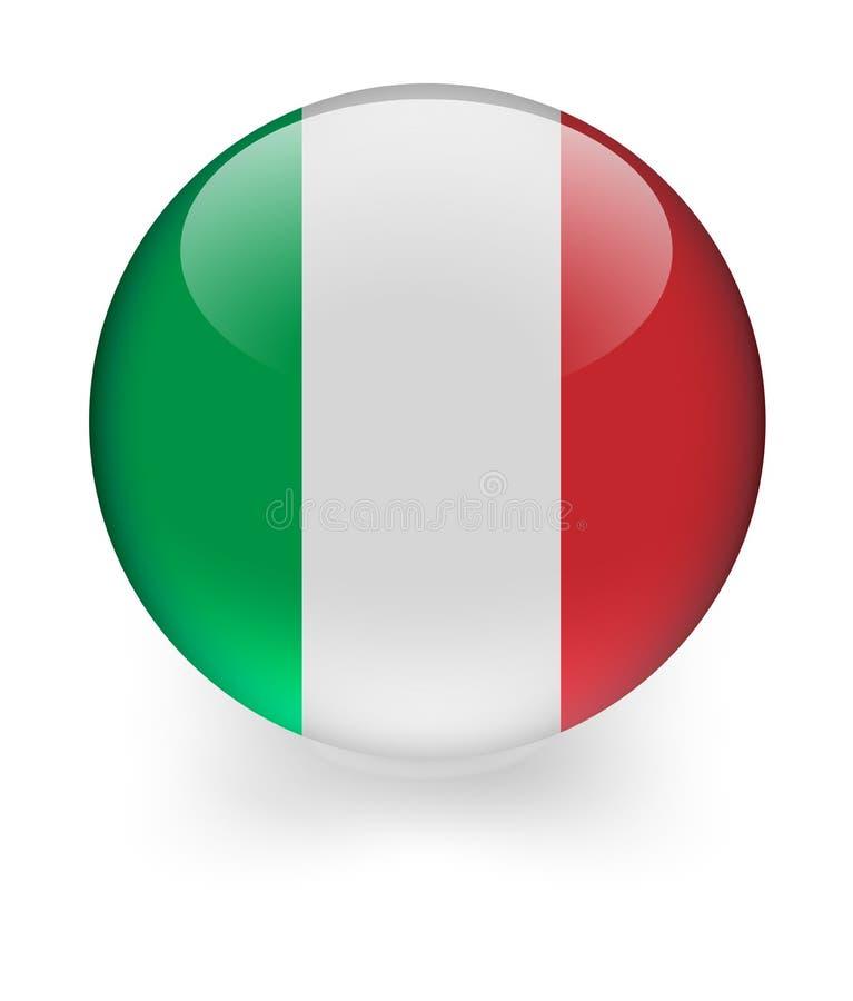 Free Shiny Sphere With Italian Flag Royalty Free Stock Photos - 9829198