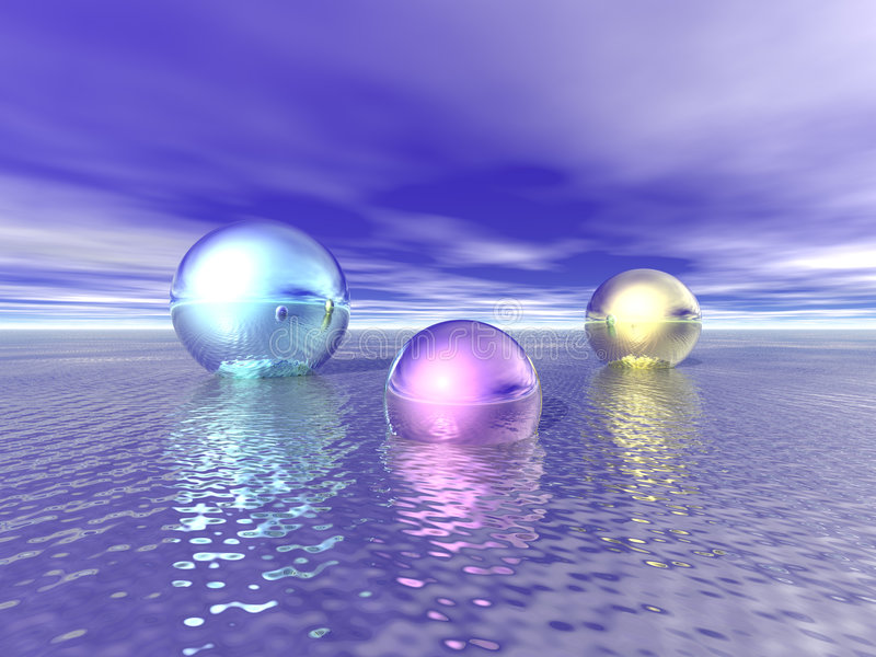 Download Shiny Spheres Royalty Free Stock Images - Image: 2034709