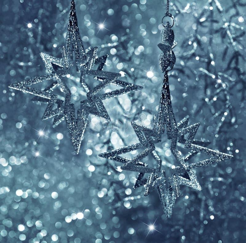 Shiny stars. christmas decoration stock image