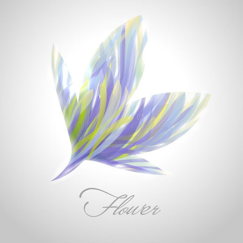 Download Shiny Striped Flower. Vector Illustration. Stock Vector - Image: 25424674