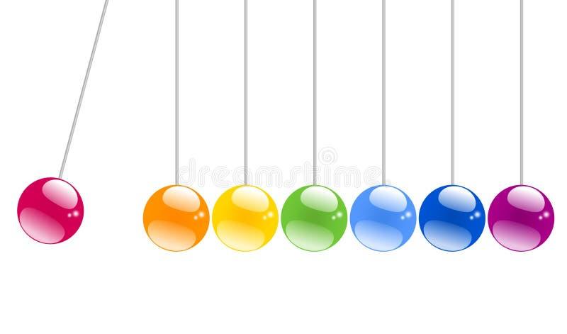Shiny Swinging balls