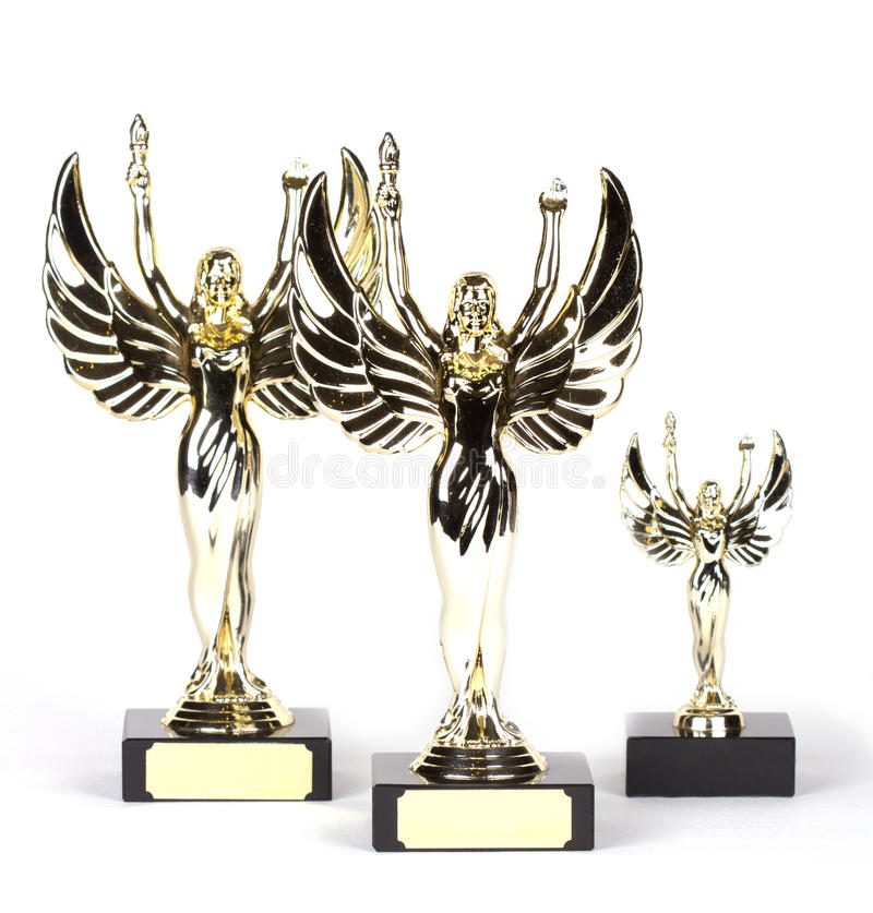 Download Shiny Victory Sculpture For The First Place Stock Image - Image: 26713051