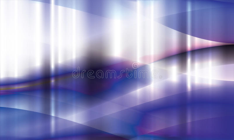 Download Shiny  waves stock vector. Image of glittery, fantasy - 16904608