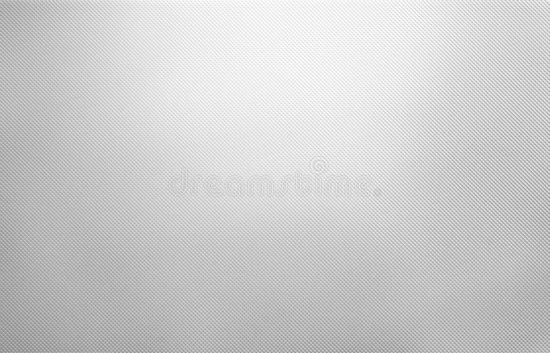 Shiny White Metal Texture Dotted Silver Background Stock