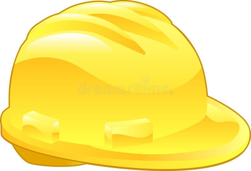 Download Shiny Yellow Hard Hat Illustration Stock Vector - Image: 8727025