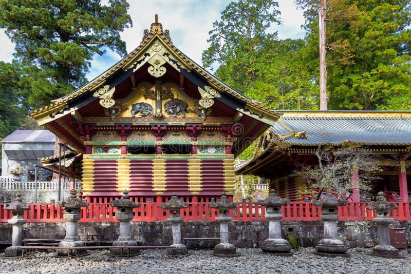 Shinyosha of Toshogu Shinto shrine stock photo