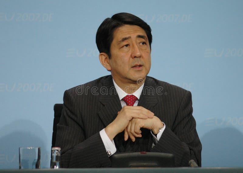 Shinzo Abe royalty-vrije stock foto