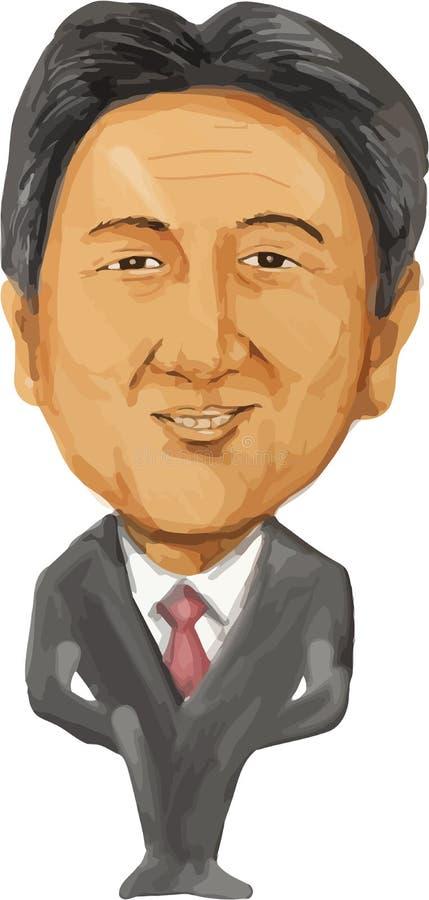 Shinzo Abe Pierwszorzędny minister Japonia
