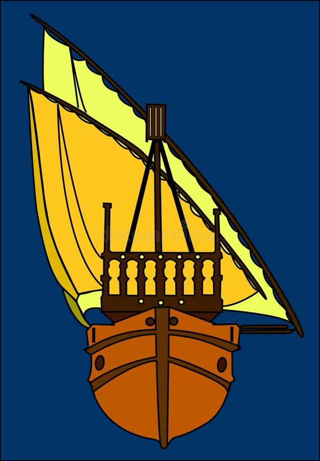 Ship royalty free illustration
