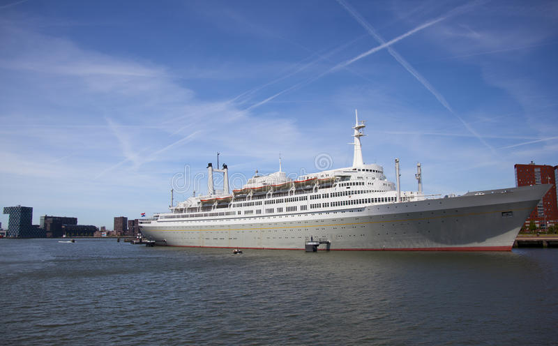 Download Ship stock photo. Image of side, deck, journey, rotterdam - 14436658