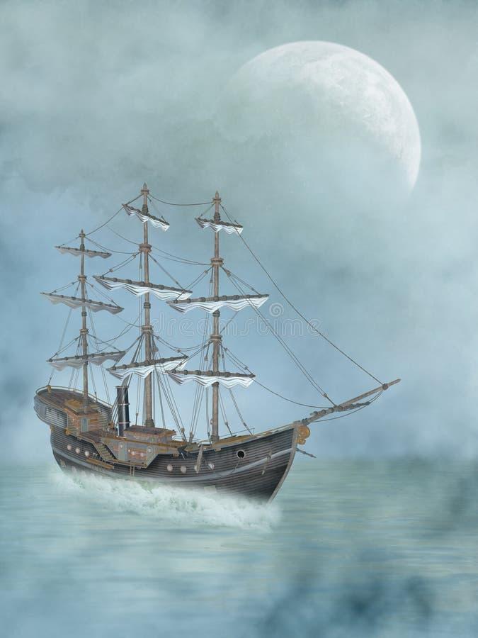 Download Ship stock illustrationer. Illustration av färgrikt, ship - 19786884