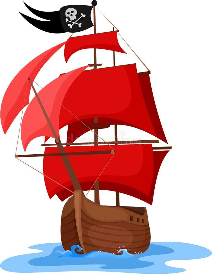 ship vektor illustrationer