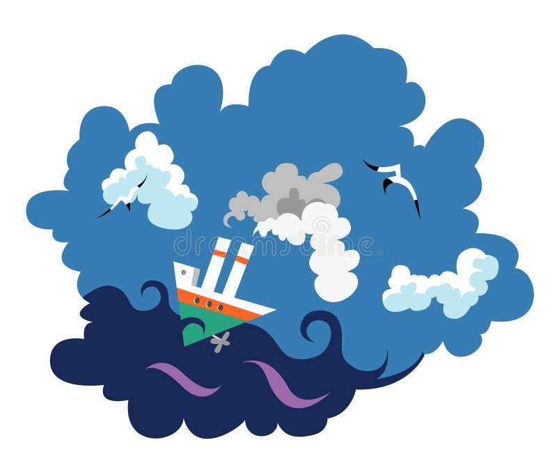 Ship vector illustration