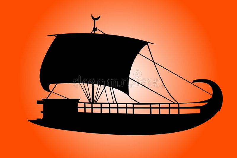 Ship stock illustration