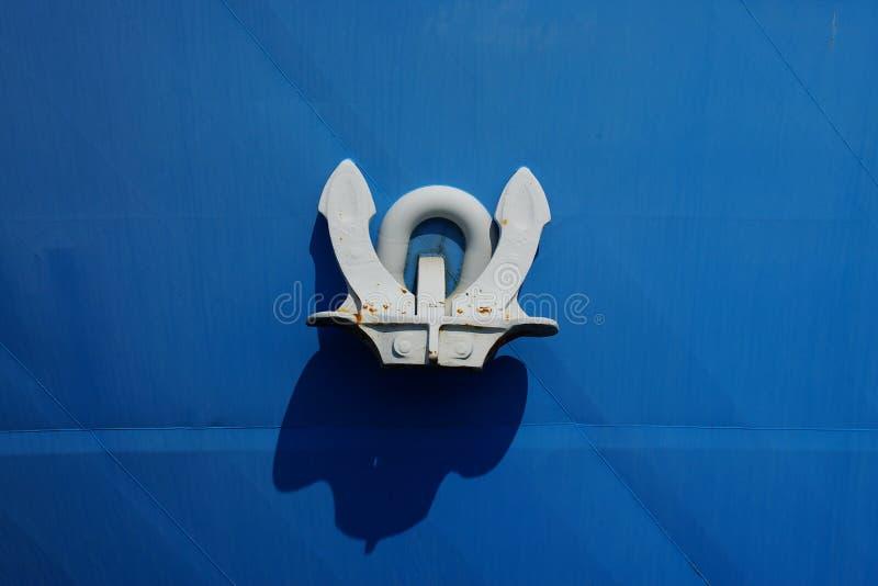 Ship anchor. royalty free stock photos
