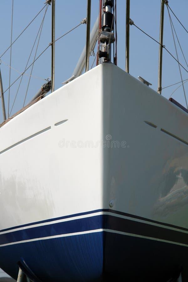 Ship bow royalty free stock image