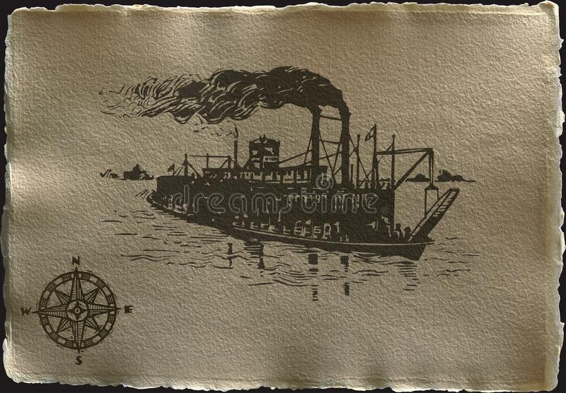 ship in brown royalty free stock photos