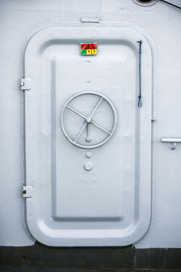 Ship Compartment Door Stock Photo Image Of Lock Survival