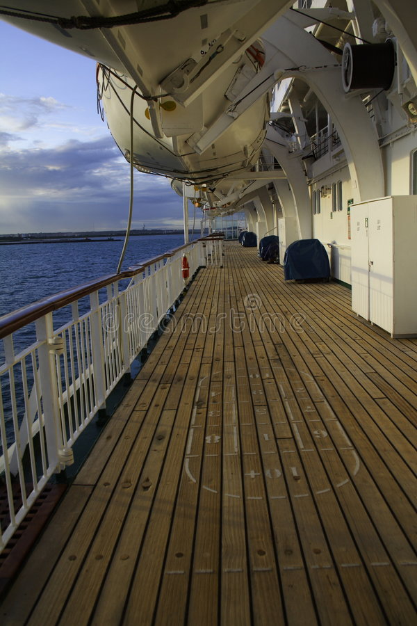 Ship Deck Royalty Free Stock Images